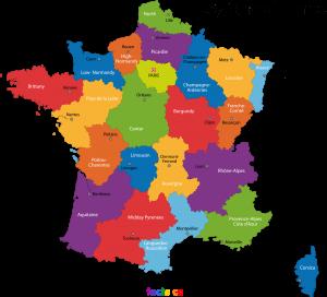 FranceStatesMap