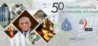 50 Years of Computing at the University of Colombo