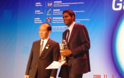 Nuwan I Senaratna Won The Gold Award At The Asia Pacific ICT Awards (APICTA)
