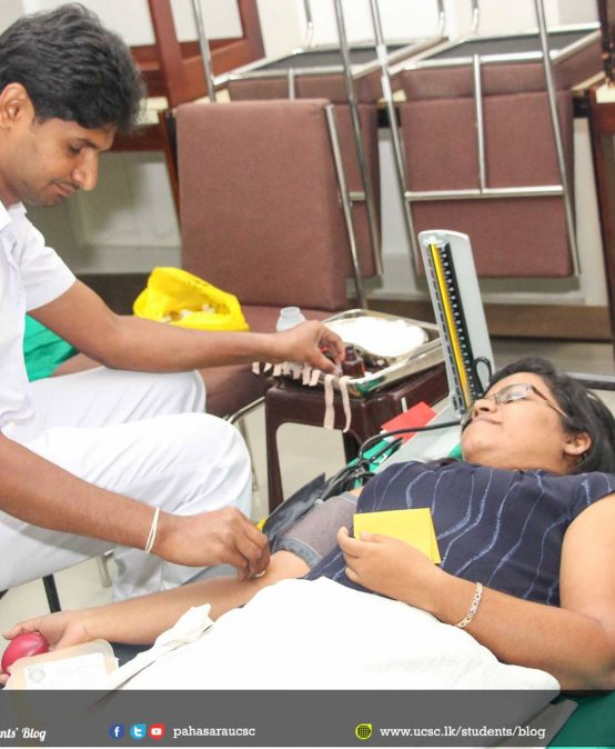 Paramitha UCSC Annual blood donation campaign