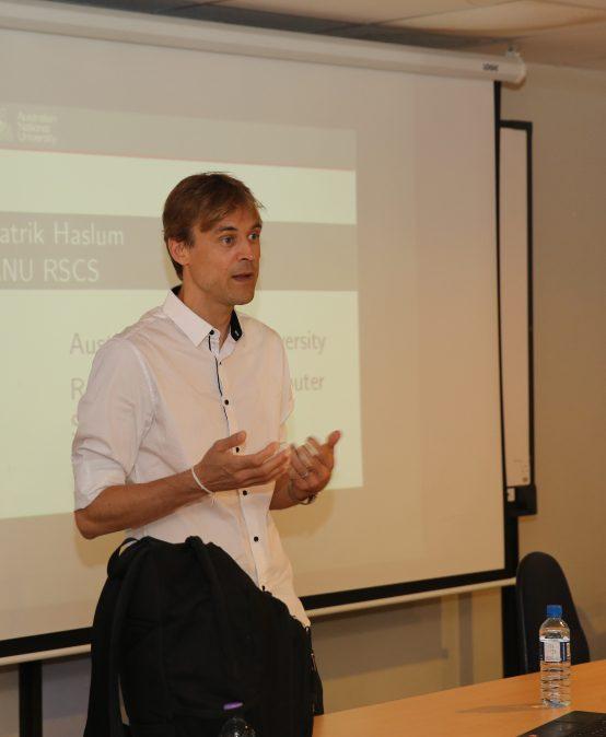 Seminar by Dr. Patrik Paulson (ANU, Australia)