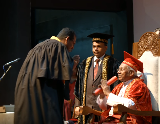 Conferment of BIT External Degrees 2017 – University of Colombo Sri Lanka