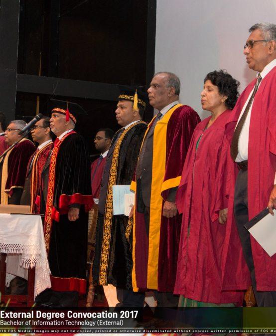 Conferment of BIT External Degrees 2018 – University of Colombo Sri Lanka