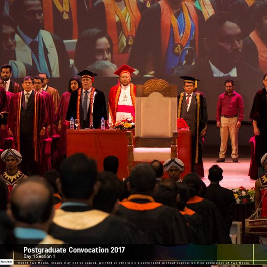 University of Colombo Convocation 2017 – Awards