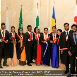 University of Colombo General Convocation 2016 – Awards