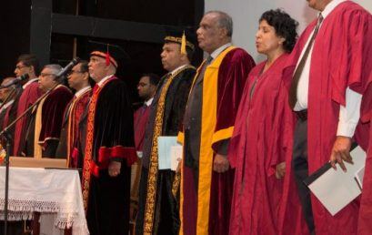 University of Colombo Convocation 2017 (External Degrees) – Awards