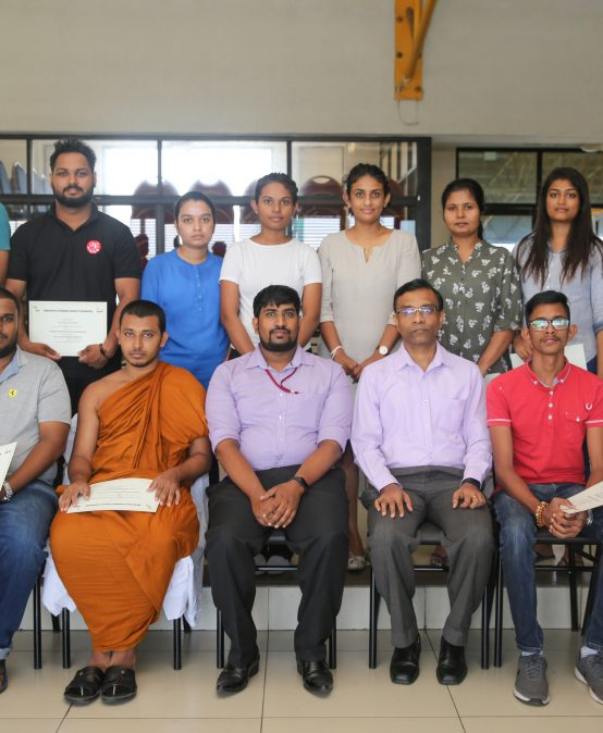 "Completion of the Short Course on ""Graphics Design and Creative Development"" – 2019 Batch 03"