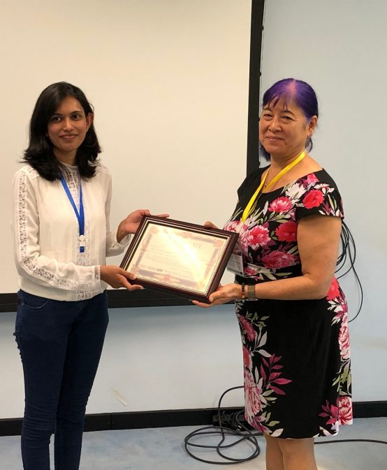 ICDLE 2019 – Best Presentation Award