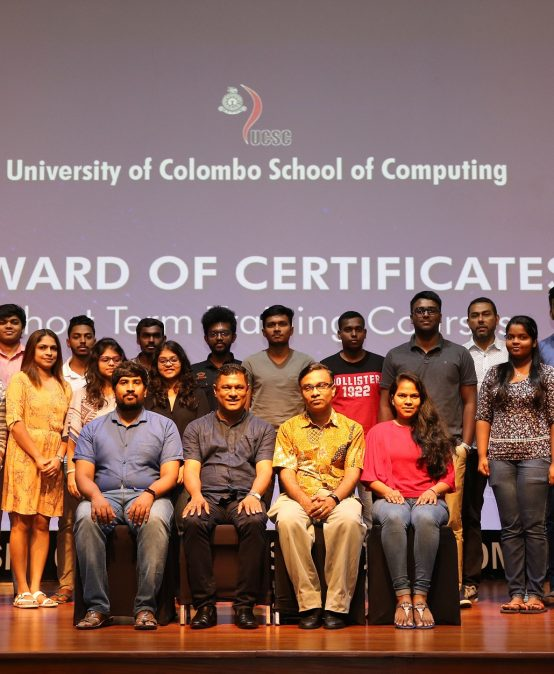 """Completion of the Short Course on """"Graphics Design and Creative Development"""" – 2019 Batch 04"""